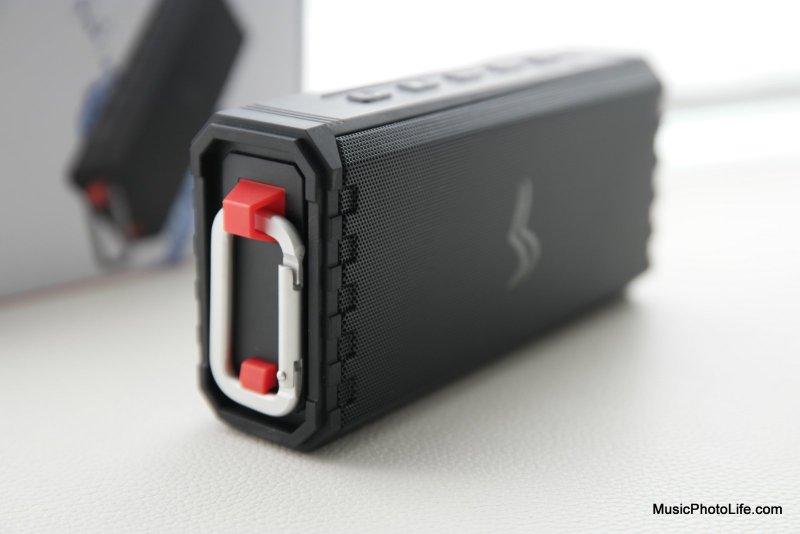 Sensport Rave Model 1 waterproof speaker review by musicphotolife.com, Singapore consumer tech blog