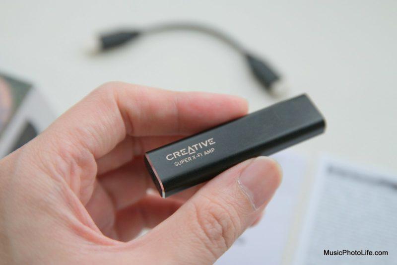 Creative Super X-Fi Amp review by musicphotolife.com, Singapore consumer audio blog