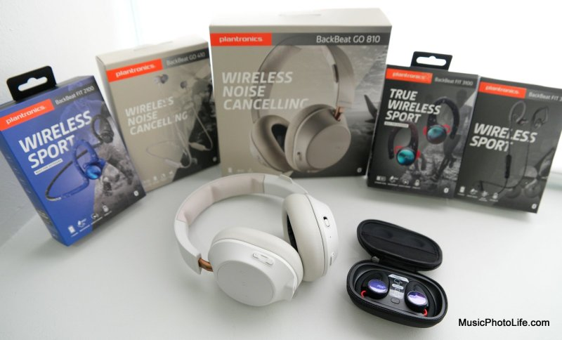 Plantronics BackBeat FIT 2100, FIT 3100, FIT 350, GO 410, GO 810 review by musicphotolife.com, Singapore consumer gadget tech blog