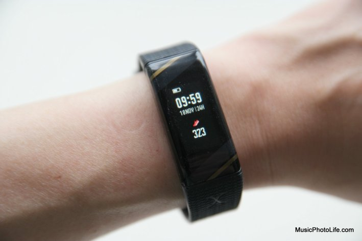 Actxa Spur+ fitness tracker review by musicphotolife.com, Singapore tech gadget blogger
