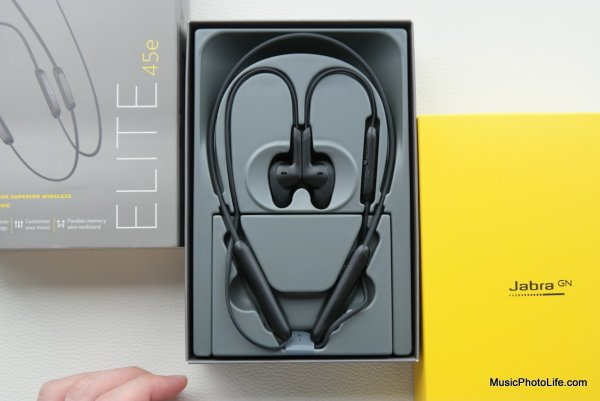 Jabra Elite 45e neckband earphones review by musicphotolife.com, Singapore consumer tech blogger