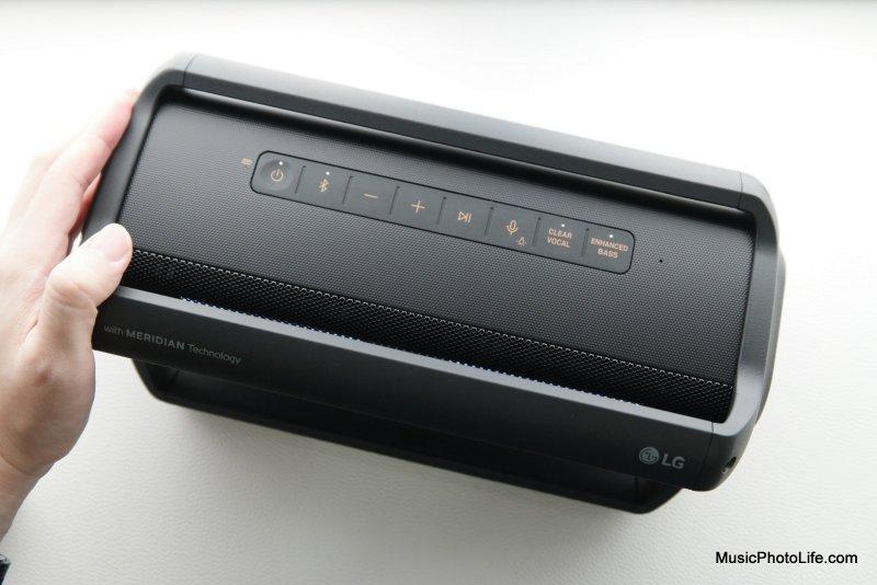 LG XBOOM Go PK7 review by musicphotolife.com, Singapore consumer audio product blogger