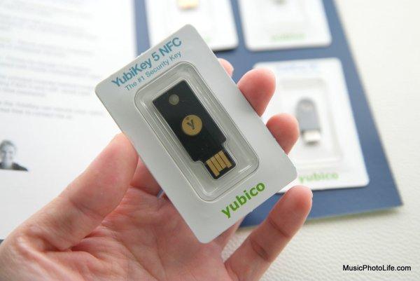 YubiKey 5 NFC review by musicphotolife.com, Singapore tech blogger