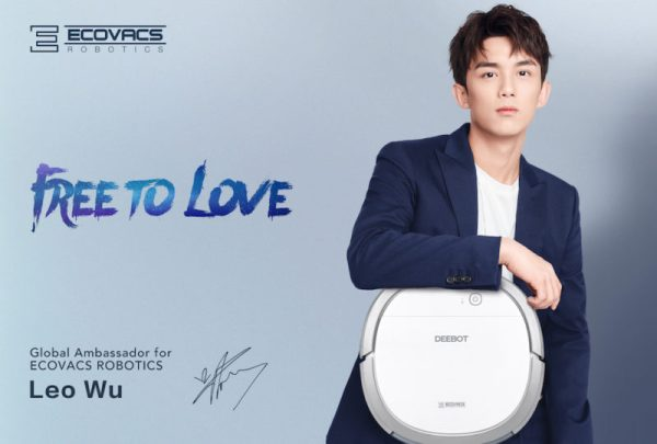 ECOVACS Robotics announced Chinese artiste Leo Wu as their new global ambassador