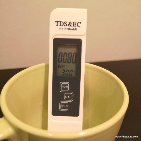 Singapore tap water TDS