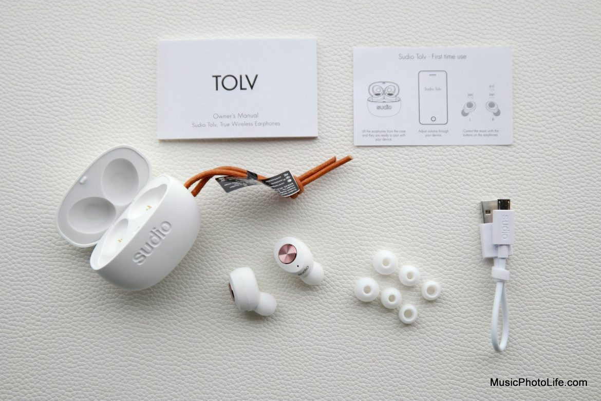 Sudio Tolv true wireless earphones review by musicphotolife.com , Singapore headphones review website