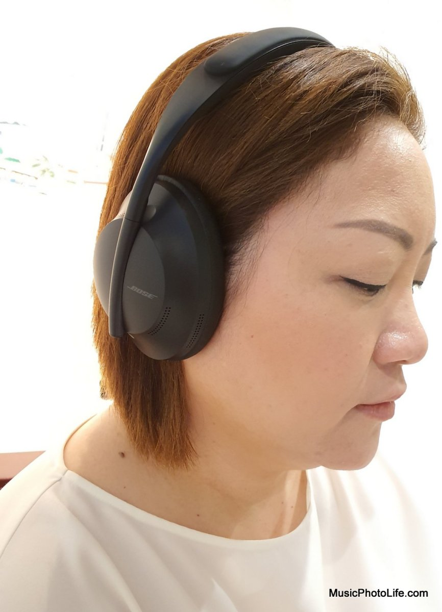 Bose Noise Cancelling Headphones 700 review by musicphotolife.com Singapore consumer tech blogger