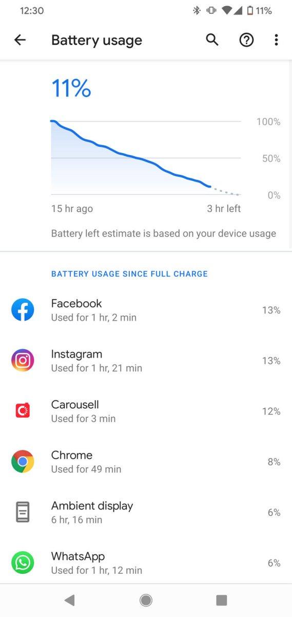 Google Pixel 4XL Battery