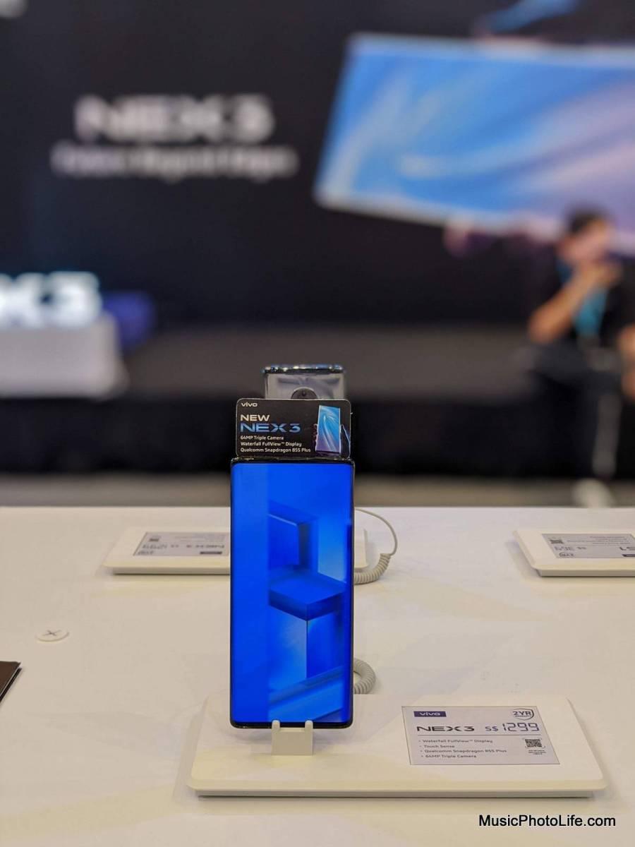 Vivo NEX 3 at Bedok Mall roadshow 6-12 Nov 2019