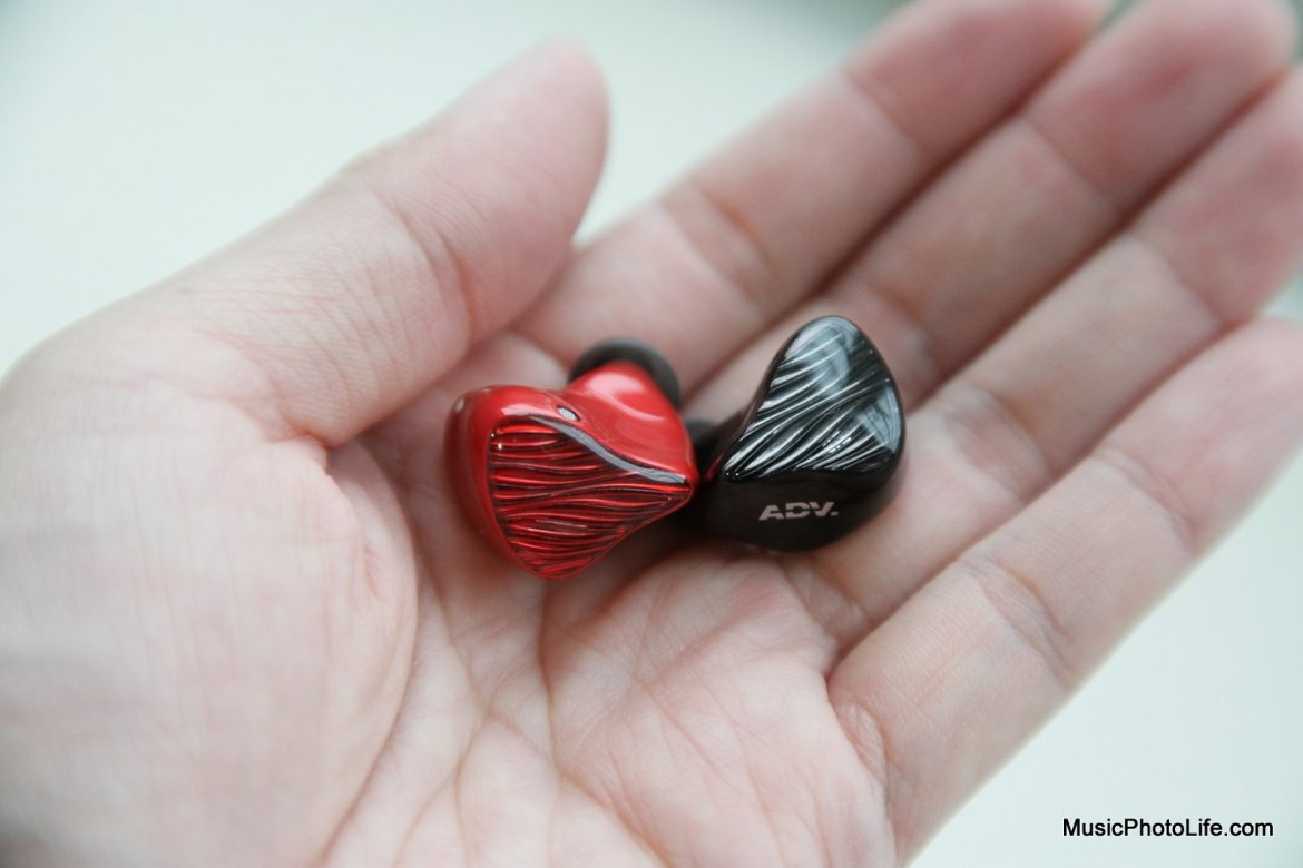 Advanced M5-TWS earbuds on hand