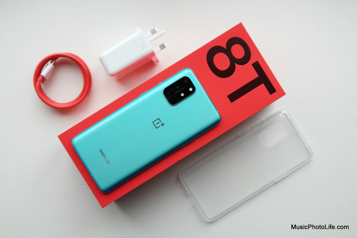OnePlus 8T review by Music Photo Life, Singapore tech blog