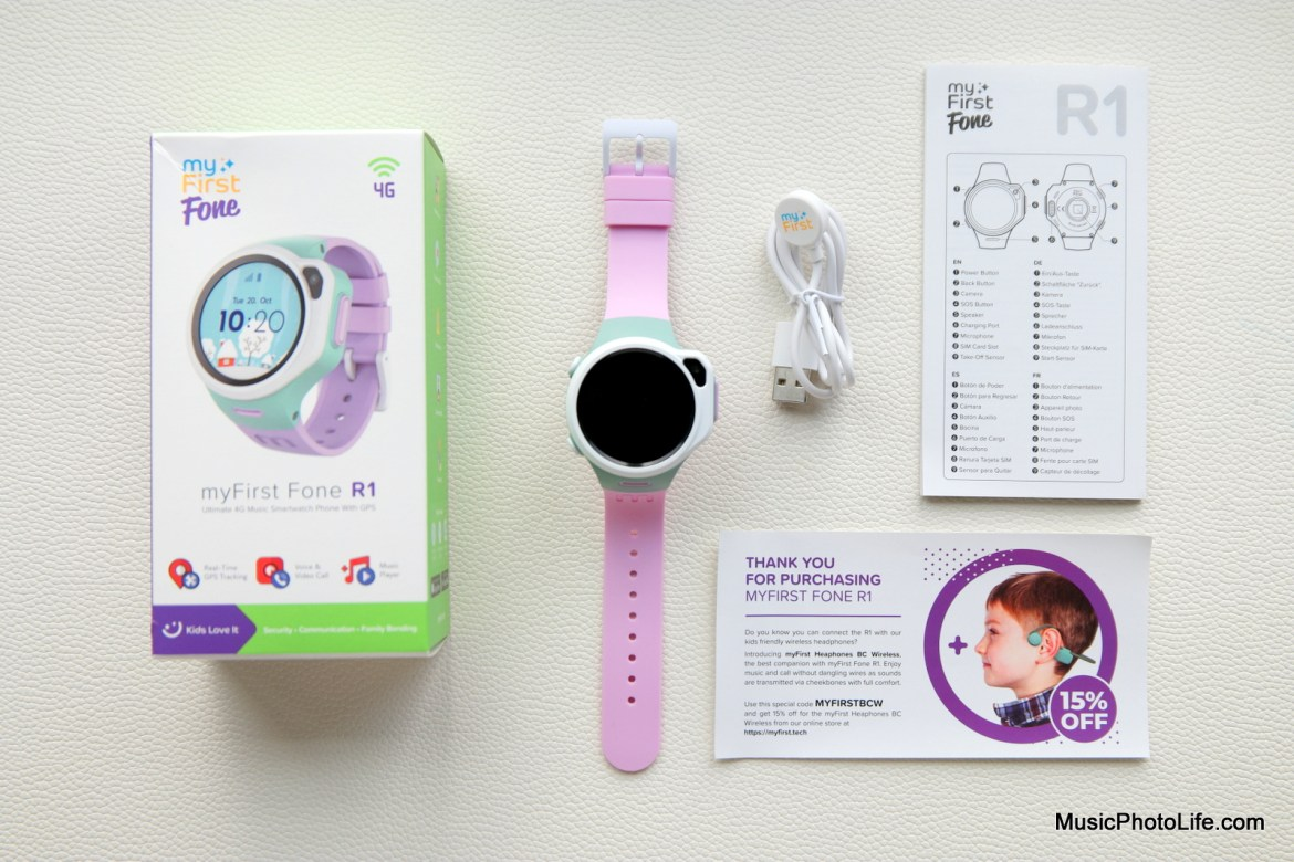 myFirst Fone R1 kids GPS watch phone review by Music Photo Life, Singapore tech blog