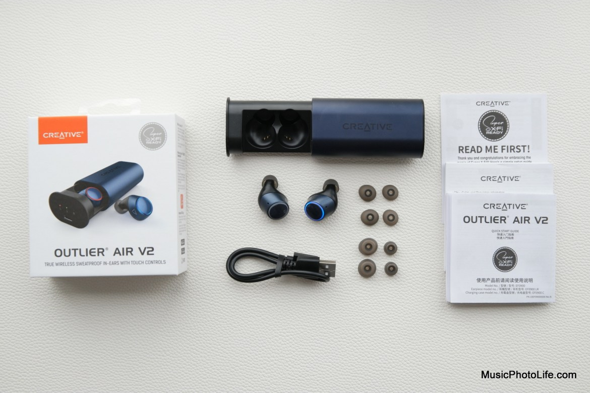 Creative Outlier Air V2 review by Music Photo Life, Singapore tech blog