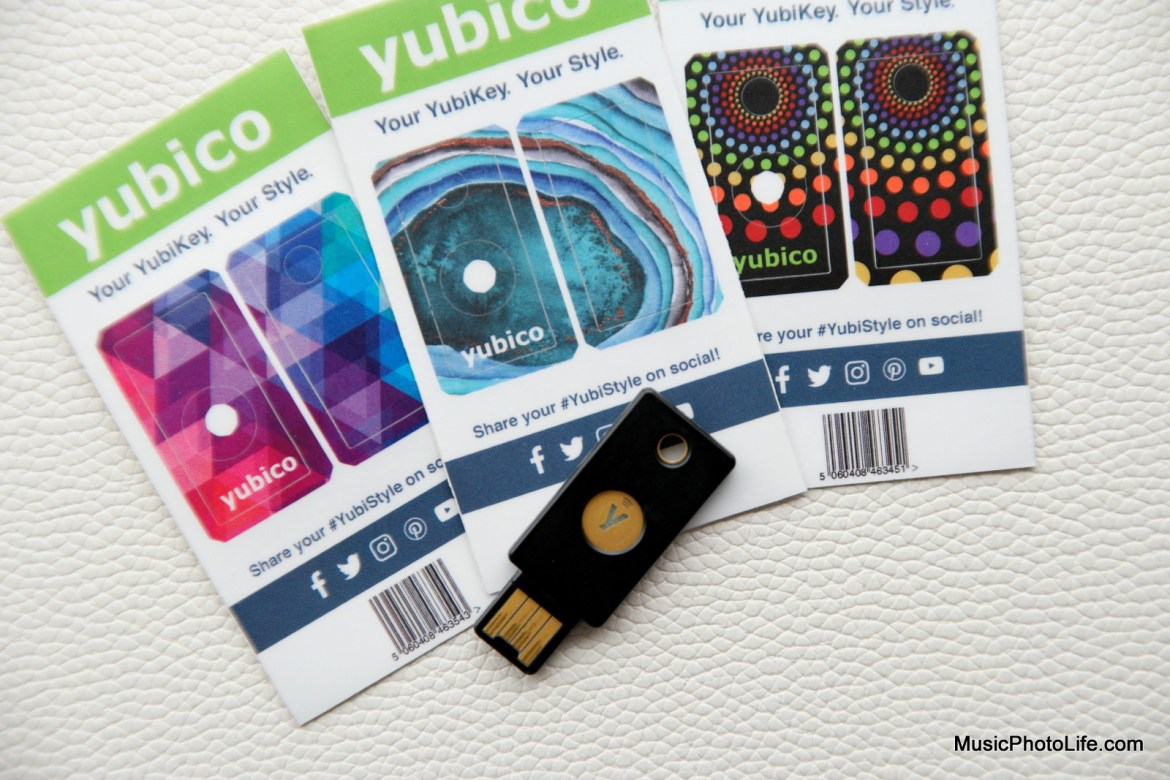 YubiKey 5 NFC review by Music Photo Life, Singapore tech blog