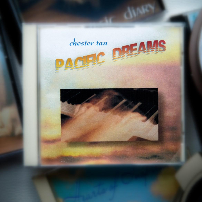 Pacific Dreams 2021 album cover design