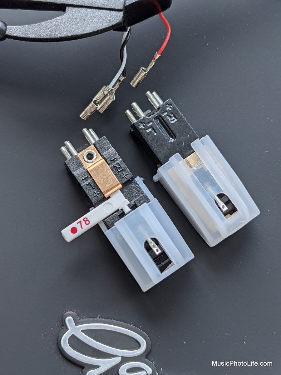 Turntable flip stylus needle cartridge compared with Gadhouse cartridge