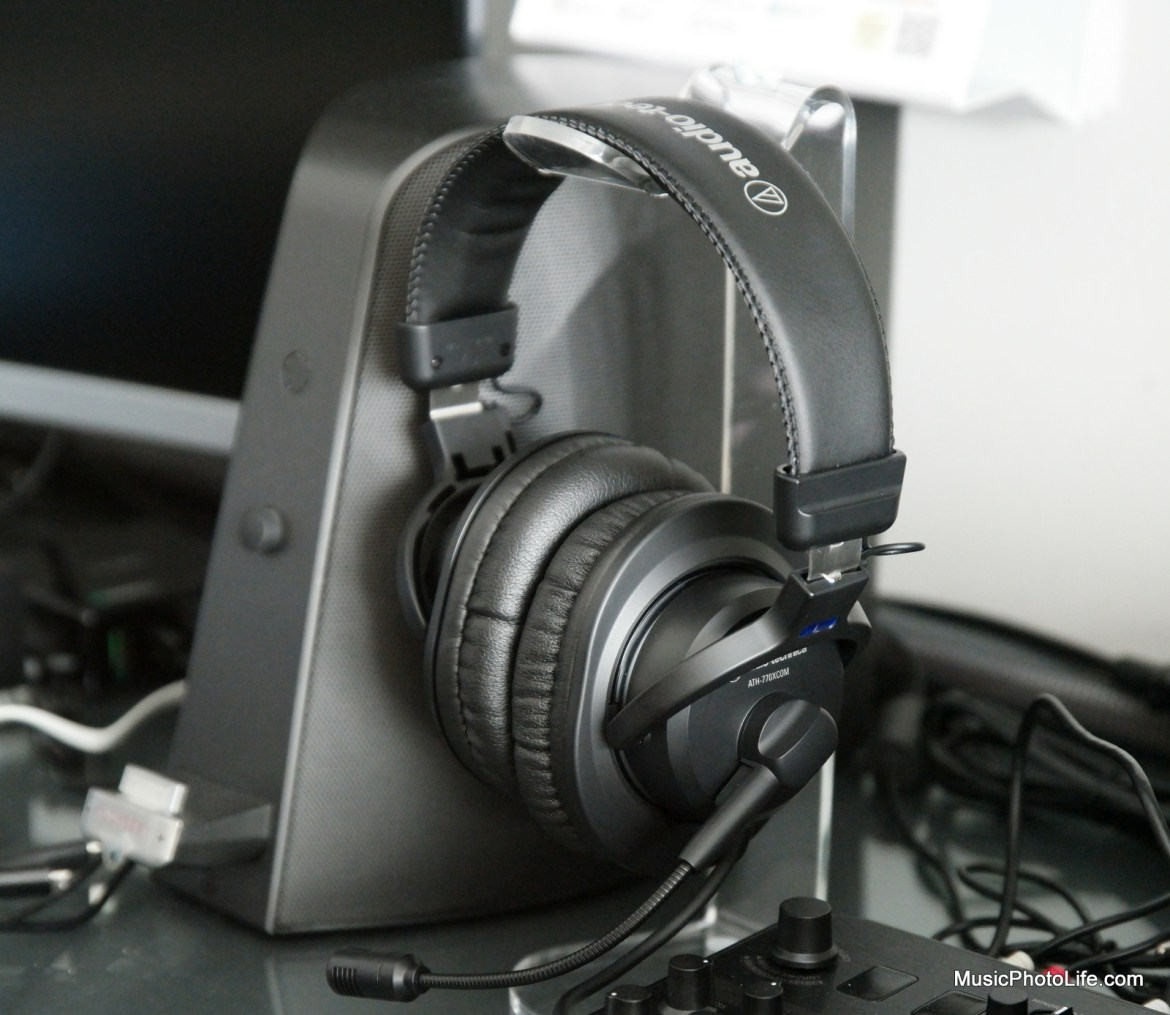 Audio-Technica ATH-770XCOM stereo headset review by musicphotolife.com, Singapore tech blog