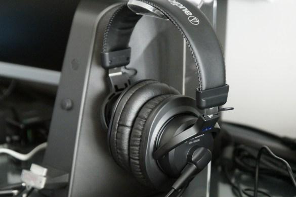 Audio-Technica ATH-770XCOM stereo headset review by musicphotolife.com, Singapore tech blog