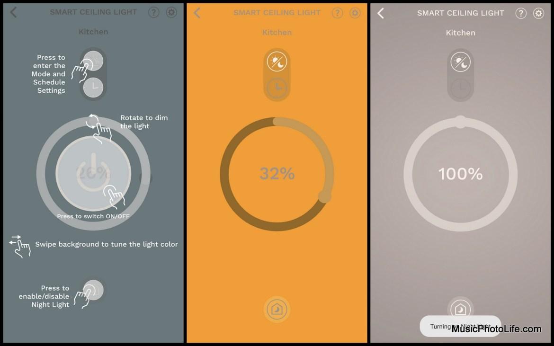 Kyla Gen 2 Smart WiFi Ceiling Light review by Music Photo Life, Singapore tech blog