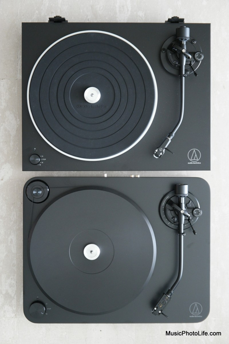 Audio-Technica LP7 vs. LP5X