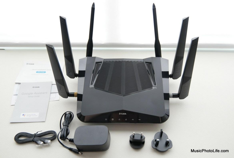 D-Link DIR-X5460 AX router review by Music Photo Life, Singapore tech blog
