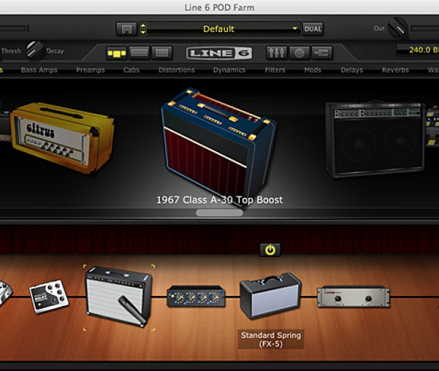 For Over A Decade Pro Tools Studio Engineers Have Favored One Family Of Plug Ins More Than Others For Guitar Amp And Effect Simulations Line 6s Amp Farm