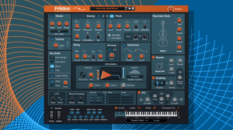 friktion modeled strings a new reason