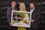 Dolly Parton Receives No. 1 Plaque At Hollywood Bowl Show