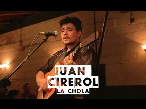 Juan Cirerol en Vivo – La Chola – Salón Morelos