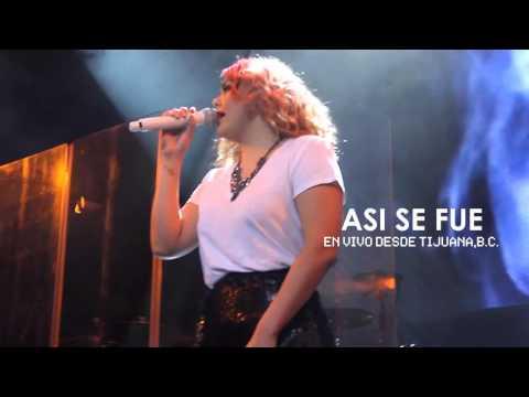 Yuridia Así Se Fue – En Vivo Desde Tijuana (Video Rec Live By Mendoza Films )