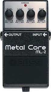 BOSS Metalcore Guitar Pedal