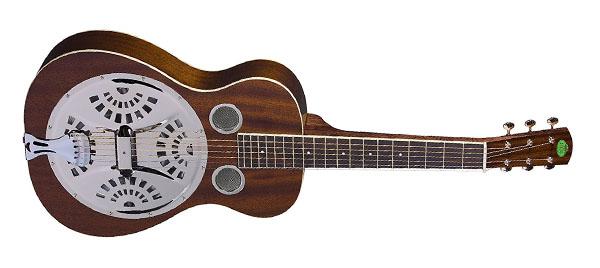 Top resonator guitars