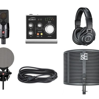 sE-Audient-Audio Technica Bundle