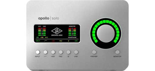 UAD Apollo Solo Audio Interface