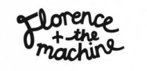 Florence + The Machine Logo - black on white