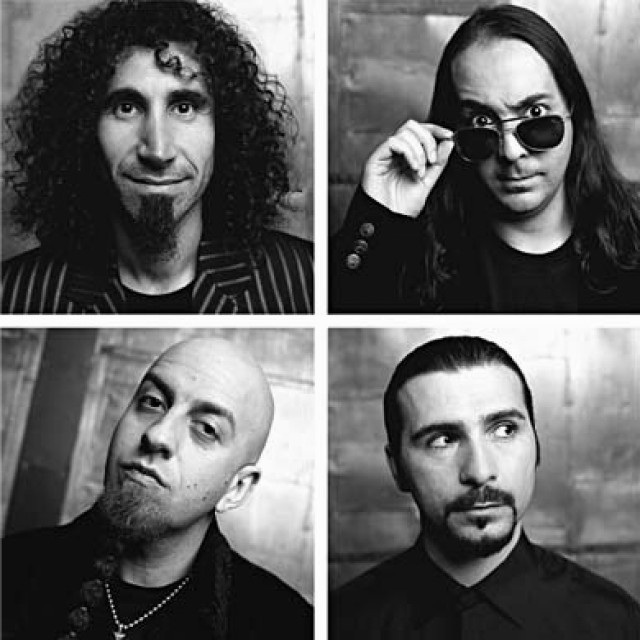 System of a Down - band picture - block grid