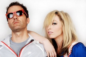 The Ting Tings - band picture - 2011
