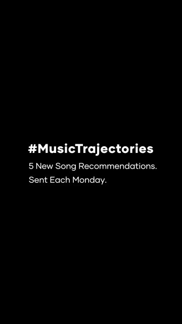 #musictrajectories Album of the Week