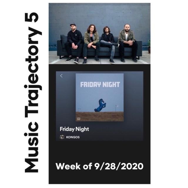 kongos friday night music trajectory slide