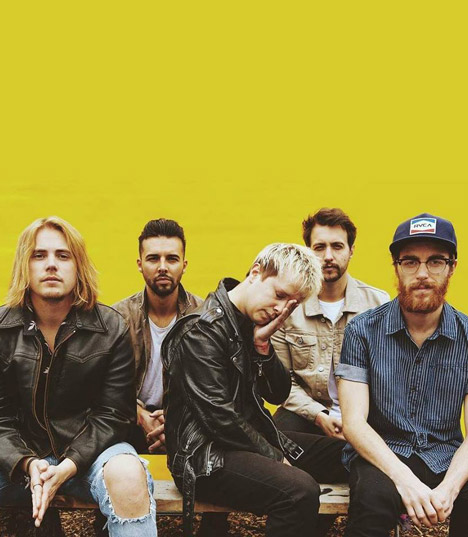 Nothing But Thieves band 2020 - Music Trajectory
