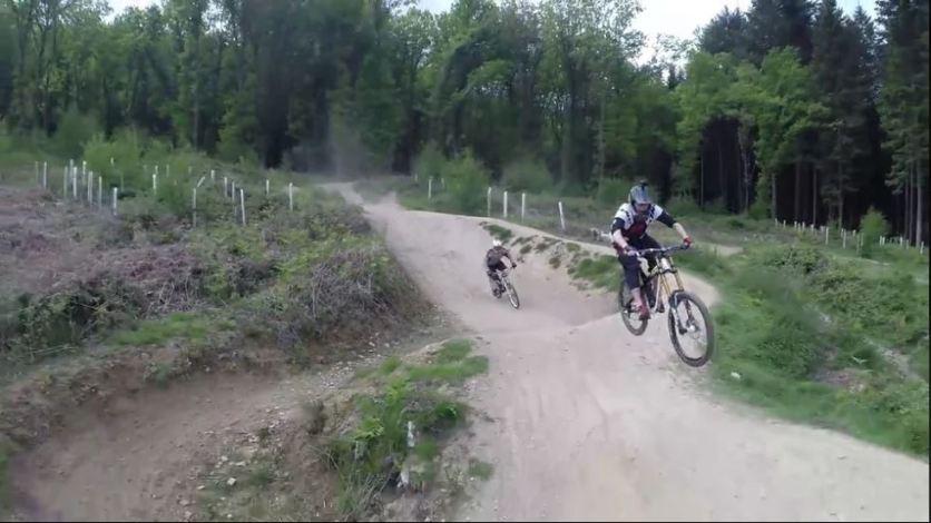 MTB / BMX drone footage