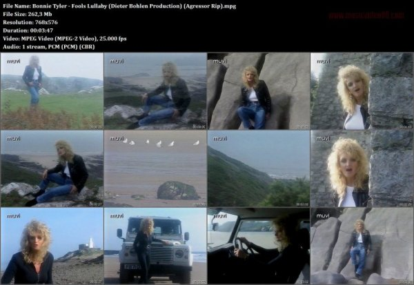 Bonnie Tyler - Fools Lullaby (Dieter Bohlen Production ...