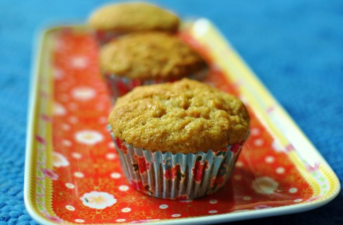 Pineapple and carrot muffins (2)