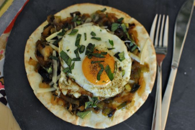 Eggs and Caramelized Onions