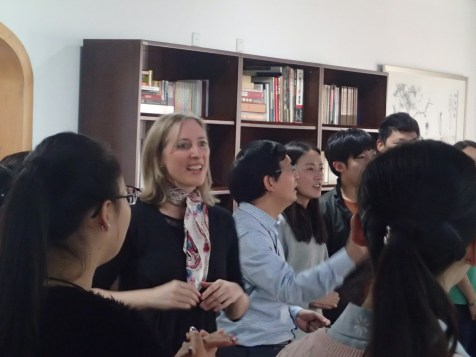 Gillian Howell - Community Music Workshop, Beijing 4