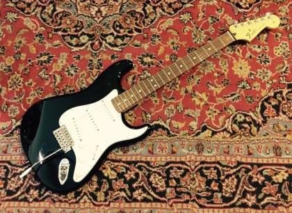 Fender Standard Stratocaster RW Black México