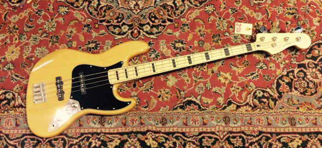 Squier Vintage Modified Jazz Bass ´77 Amber gebraucht