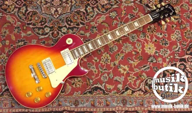 Gibson Les Paul Standard Plaintop cherryburst 1992 1