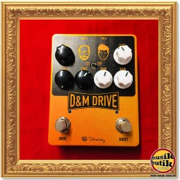 Keeley D&M Drive - Daniel Steinhardt & Mick Taylor (That Pedal Show) Signature Overdrive : Boost 1