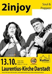 Kulturherbst 2injoy Plakat
